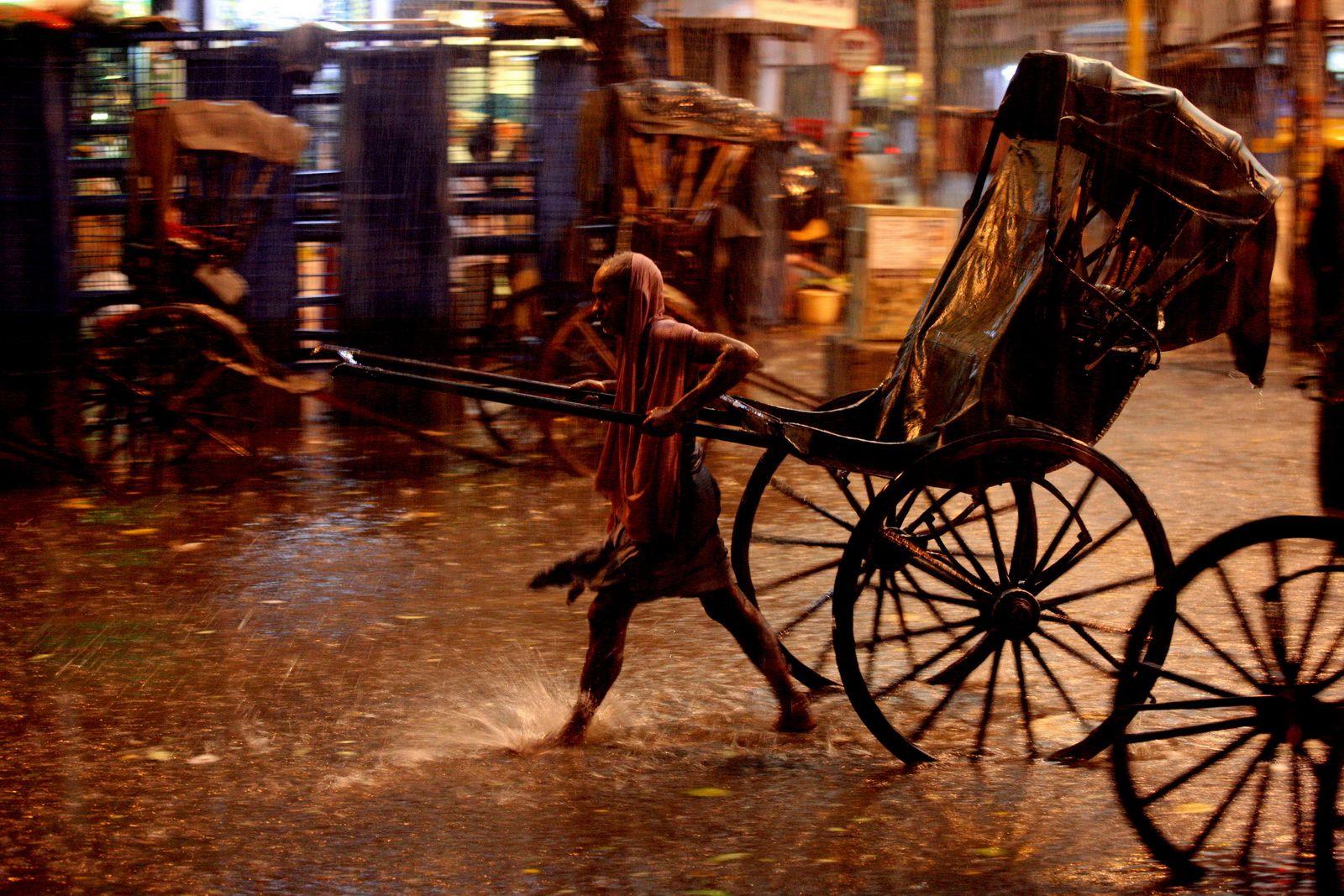 Rikši, Kalkata, Indie / Rickshaws, Kolkata, India